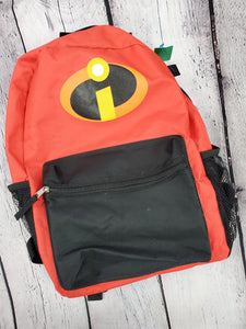 Incredibles 2 boys or girls backpack red