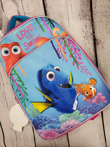 Disney Dory backpack girls or boys new blue