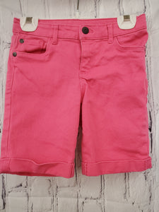 Arizona Jeans girls shorts pink 6x