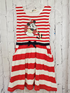 H&M Disney girls dress Minnie mouse 6/8