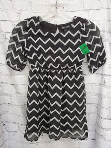 George girls dress black/ white 6