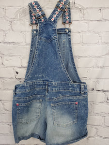 L.E.I. Girls shortalls denim 7/8