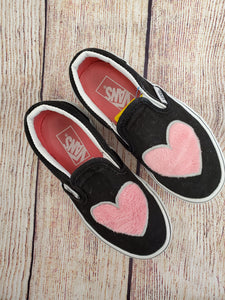 Vans girls shoes black 11.5