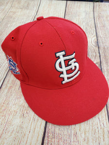 Forty Seven boys cap red Cardinals