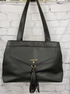 Liz Claiborne handbag black double handle