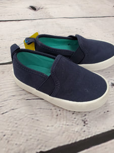 Old Navy girls or boys shoes blue slip on 5