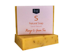 Load image into Gallery viewer, Natural Soap - Mango & Green Tea