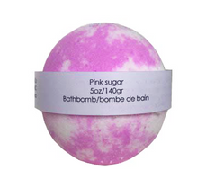 Load image into Gallery viewer, Pink Sugar Bathbomb