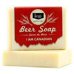 100% Natural I am Canadian Beer Soap