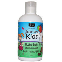Load image into Gallery viewer, Just for Kids Bubble Bath - Fairy Whispers  240ml