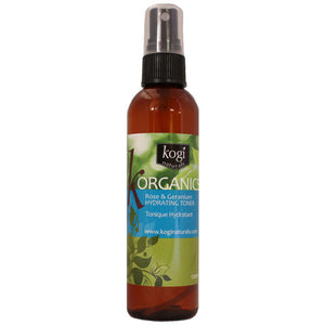 Organic Rose & Geranium Hydrating Toner   120ml