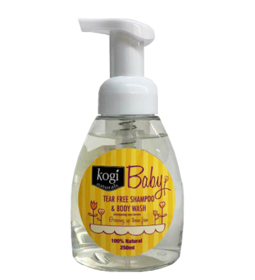 Baby Foaming Shampoo & Body Wash   250ml