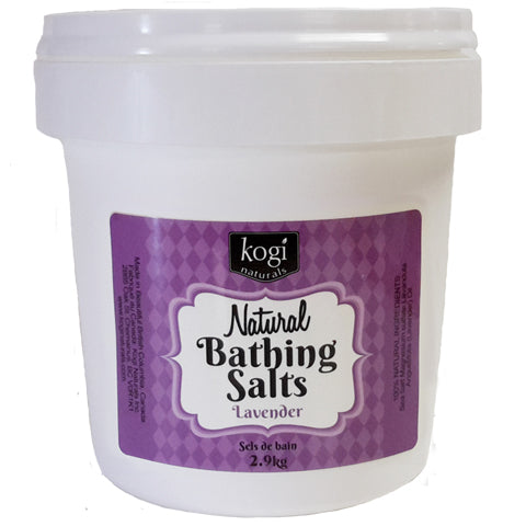 Bulk Lavender Bathing Salts 2.9kg