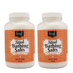 Mango Bathing Salts Duo   2 x 600g