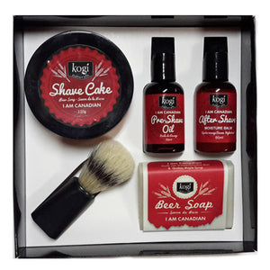 I Am Canadian Men's Shave Set