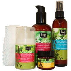 Organic Beauty Set (Complete Facial Line)