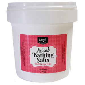 Bulk Pink Grapefruit Bathing Salts 2.9kg