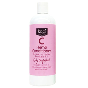Ruby Grapefruit Hemp Leave In Spray Conditioner Refill 475ml