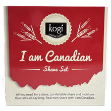 Load image into Gallery viewer, I Am Canadian Men's Shave Set