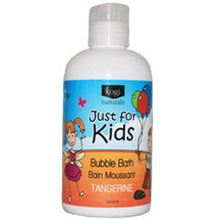Load image into Gallery viewer, Just for Kids Bubble Bath - Tangerine   240ml