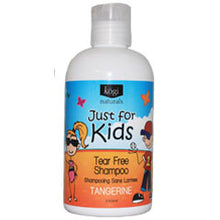 Load image into Gallery viewer, Just for Kids Tear Free Shampoo - Tangerine  240ml