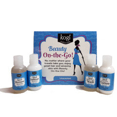 On the Go Travel Set Unscented