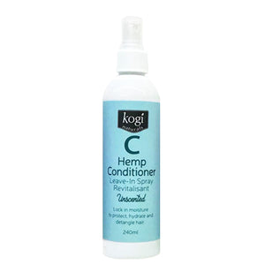 Unscented Hemp Detangler and Leave In Spray Conditioner - 240ml
