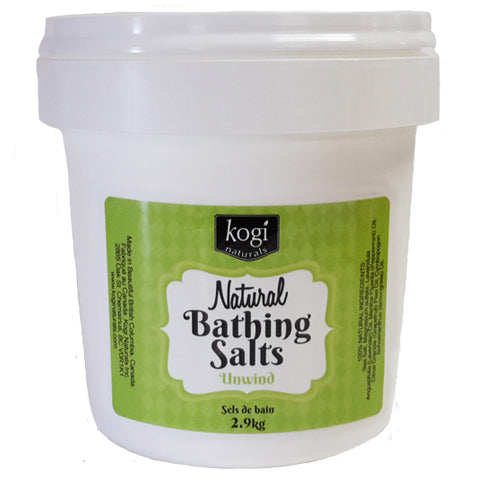 Bulk Unwind Bathing Salts 2.9kg