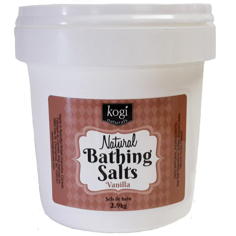 Bulk Vanilla Bathing Salts 2.9kg