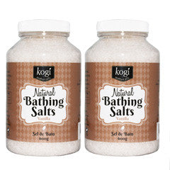 Vanilla Bathing Salts Duo   600g