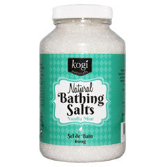 Vanilla Mint Bathing Salts   600g
