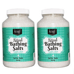 Vanilla Mint Bathing Salts Duo   600g