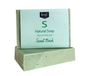 Natural Soap - Sweet Birch & Mint