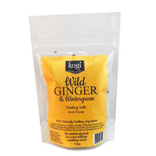 Load image into Gallery viewer, Bathing Salts - Wild Ginger & Wintergreen  150g