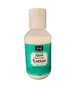 Vanilla Mint Lotion 60ml