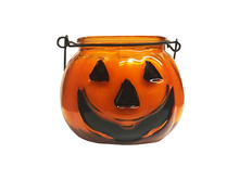 Load image into Gallery viewer, Jack O Lantern Globe  Pumpkin Spice Latte Candle