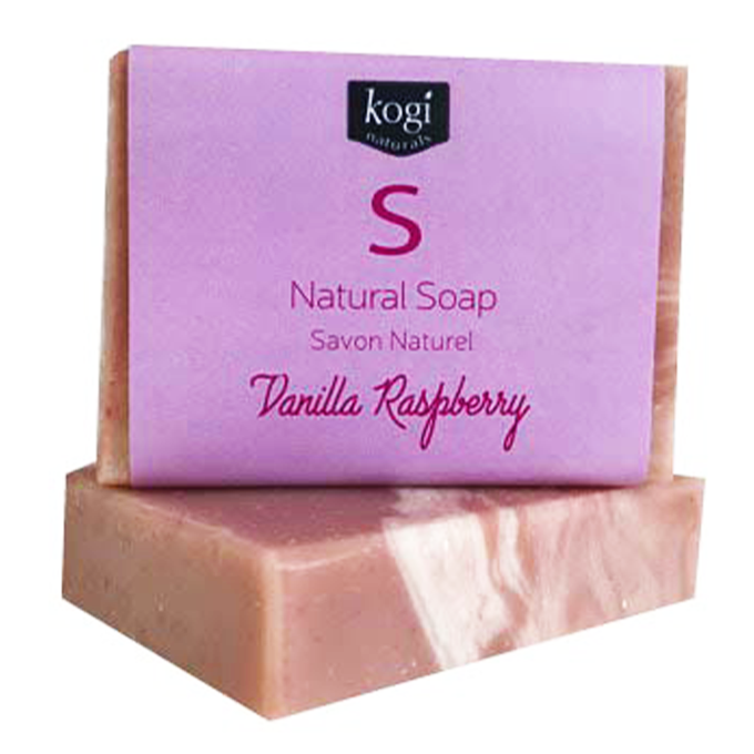 Natural Soap - Vanilla Raspberry