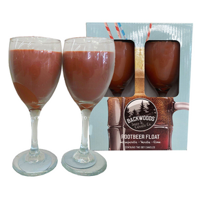 Root Beer Wine glass Set