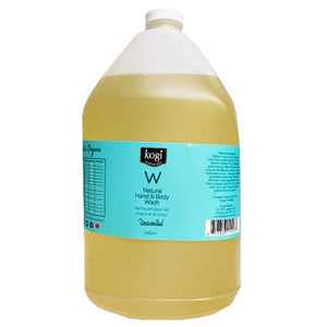 Bulk Unscented Body Wash 4L