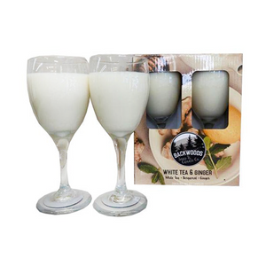 White Tea and Ginger Wine Glass Set
