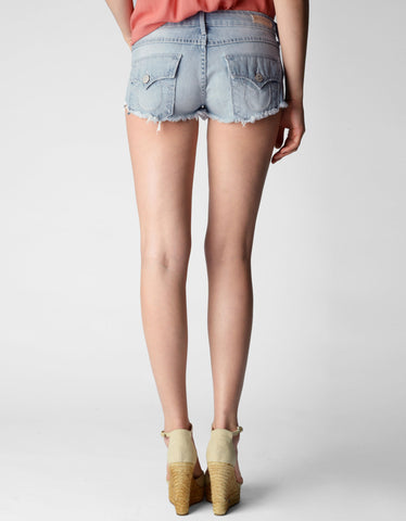 JOEY LOW RISE DENIM CUT OFF WOMENS SHORT