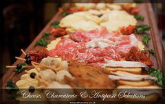 Cheese, Charcuterie & Antipasti Selections
