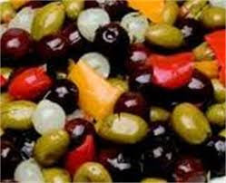 Cocktail Olives (mixed & seasoned)