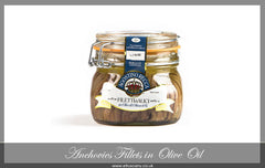 Anchovies Fillets, Large Jar