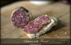 Fennel Salame Large or Sliced