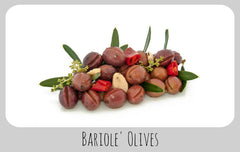 Bariolè Olives (unpitted)