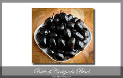 Belle di Cerignola Black Olives (unpitted)