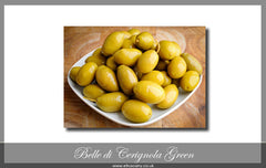 Belle di Cerignola Green Olives (unpitted)