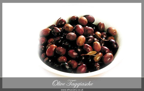 Olive Taggiasche (pitted)