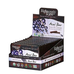80% Acai & Cacao Superfood Bar - Righteous Cacao